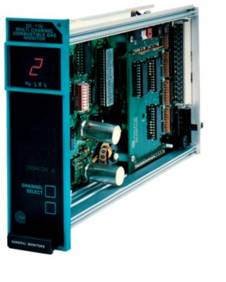 DC110 Eight Channel Combustible Readout / Relay Module